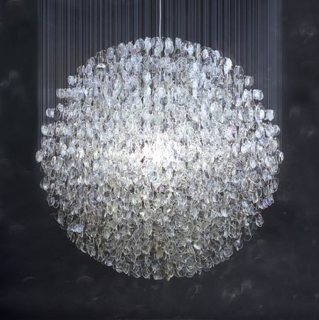 Optical Chandlier by Stuart Haygarth