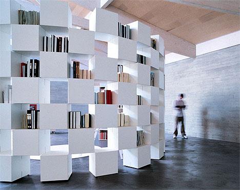 building cube shelves