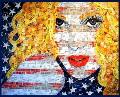 All American Blonde, Schimmel Art